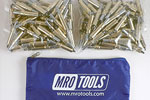 MRO TOOLS K2S150-3/16 Standard Plier Operated Cleco Fasteners 150 Piece Kit w/ Carry Bag
