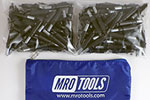 MRO TOOLS K2S200-5/32 Standard Plier Operated Cleco Fasteners 200 Piece Kits w/ Carry Bag