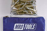 MRO TOOLS K2S100-3/16 Standard Plier Operated Cleco Fasteners 100 Piece Kit w/ Carry Bag