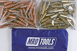 MRO TOOLS K3S100-1 Standard 50 1/8'' & 50 3/16'' Cleco Fasteners Kit w/ Carry Bag