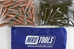 MRO TOOLS K3S100-2 Standard 50 1/8'' & 50 5/32'' Cleco Fasteners Kit w/ Carry Bag