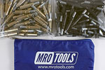 MRO TOOLS K3S100-4 Standard 50 3/16'' & 50 5/32'' Cleco Fasteners Kit w/ Carry Bag