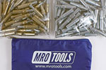 MRO TOOLS K3S100-5 Standard 50 3/16'' & 50 3/32'' Cleco Fasteners Kit w/ Carry Bag