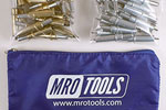 MRO TOOLS K3S50-5 Standard 25 3/16'' & 25 3/32'' Cleco Fasteners Kit w/ Carry Bag