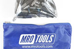 MRO TOOLS KHD2S50-5/32 Heavy Duty Plier Operated Cleco Fasteners 50 Piece Kit w/ Carry Bag