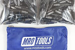 MRO TOOLS KHD2S150-5/32 Heavy Duty Plier Operated Cleco Fasteners 150 Piece Kit w/ Carry Bag