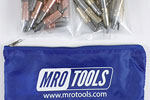 MRO TOOLS KHD3S50-1 Heavy Duty 25 1/8'' & 25 3/16'' Cleco Fasteners Kit w/ Carry Bag