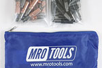 MRO TOOLS KHD3S50-2 Heavy Duty 25 1/8'' & 25 5/32'' Cleco Fasteners Kit w/ Carry Bag