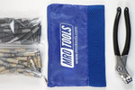 KHD4S50-4 Set of 25 3/16'' & 25 5/32'' Heavy Duty Cleco Fasteners w/ Mesh Carry Bag