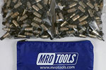 MRO TOOLS KK2S500-3/16 1/16'' Extra Short Plier Operated Cleco Fasteners 500 Piece Kit w/ Carry Bag