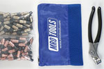 MRO TOOLS KK4S100-1 Extra Short 50 1/8'' & 50 3/16'' Cleco Fasteners Kit w/ Carry Bag