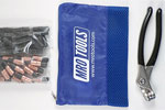 KK4S50-2 Set of 25 1/8'' & 25 5/32'' Extra Short Cleco Fasteners w/ Mesh Carry Bag