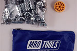 MRO TOOLS KWN1S50-3/32 Standard Wing-Nut Cleco Fasteners 50 Piece Kit w/ HBHT Tool & Carry Bag