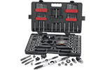 82812 GearWrench SAE/Metric Large Ratcheting Tap and Die Drive Tool 114 Pc. Set