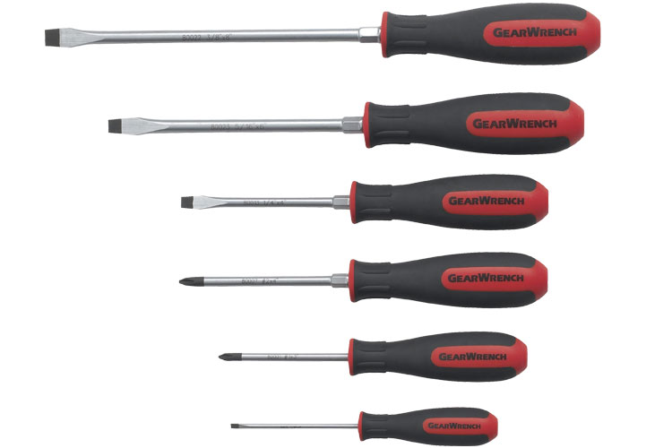 Gearwrench 80052 5 piece Phillips Screwdriver Set