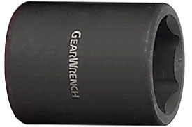 84108 GearWrench 1/4'' Standard Length Impact Socket