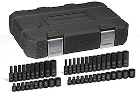 84902 GearWrench 1/4'' Impact Socket 48 Piece Set