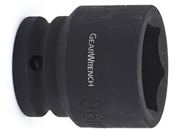 84849GearWrench 3/4'' Standard Length Impact Socket, Metric