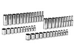 80314D GearWrench 1/4'' Drive 6 Point SAE/Metric Standard and Deep Socket 47 Piece Set