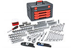 80940 GearWrench 219 Piece 1/4'', 3/8'', and 1/2'' Drive Metric & SAE Socket & Ratchet Set