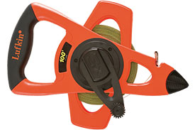 PS1808N Lufkin Pro Series Ny-Clad Steel Surveying Tape Measure
