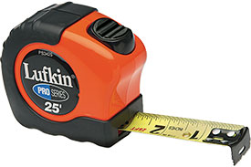 PS3035CME Lufkin Pro Series Power Return Tape Measure