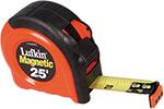 Lufkin Magnetic End Hook Power Return Tape Measures