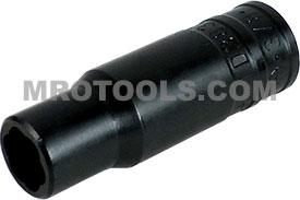 TD38375B 3/8'' Deep Turbo Socket, 3/8'' Square Drive