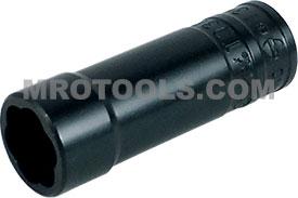 TD38512B 13mm Deep Turbo Socket, 3/8'' Square Drive