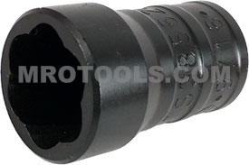 TS38562B 9/16'' Turbo Socket, 3/8'' Square Drive