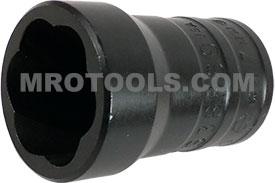 TS38669B 17mm Turbo Socket, 3/8'' Square Drive