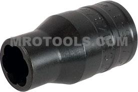 TS50437B 7/16''- 11mm Turbo Socket 1/2'' Square Drive