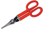 V10N Wiss 10 1/4'' Duckbill Combination Pattern Snips